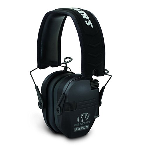 8. Walker's Razor Slim Electronic Hearing Protection Muffs