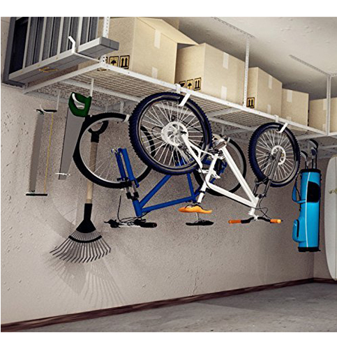 8. FLEXIMOUNTS Overhead Garage Rack - Add-On Hooks (4x8)