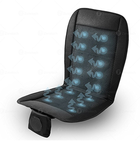 8. Zone Tech Cooling 12V Seat Cushion