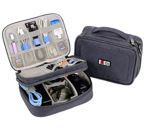 3. Amatory electronics travel bag organizer