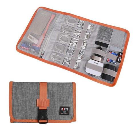 4. BUBM Cable Bag and USB Drive Organizer