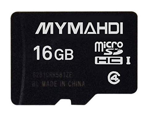 10. MYMAHDI 16G Micro SDHC Memory Card with Micro SD Card Reader
