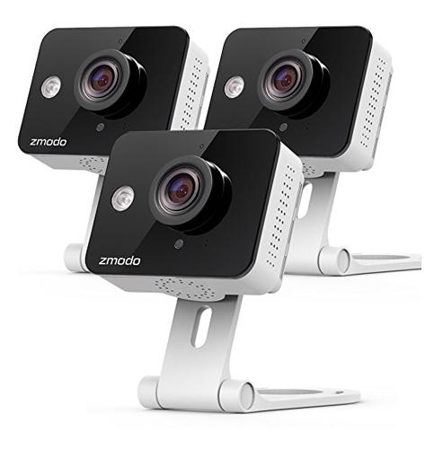 9. Zmodo 720p HD WiFi Wireless Camera (3-Pack)