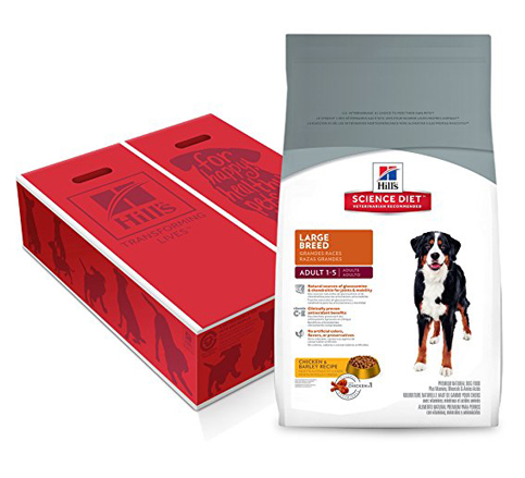 10. Hill's Science Diet Large Breed Dry Dog Food