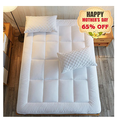 7. Shilucheng Queen Size Mattress Pad Cover