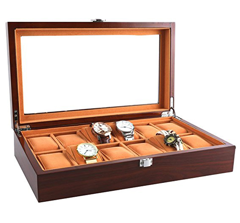 3. 12 slots JinDiLong watch case