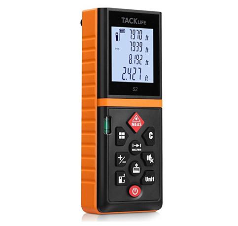 8. Tacklife Advanced Laser Measure 196 Ft