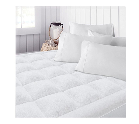 8. Beckham Premium Microplush Mattress Pad