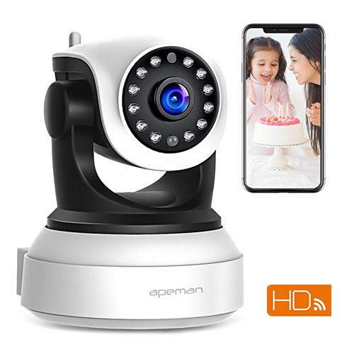 10. APEMAN WiFi IP 720P Wireless Camera
