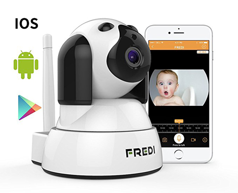 7. FREDI 720P HD Wireless Camera With Two-Way Talking