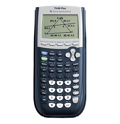 1. Texas Instruments TI-84 Calculator