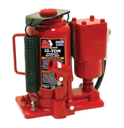 4. Torin Air Hydraulic Bottle Jack (20 Ton Capacity)
