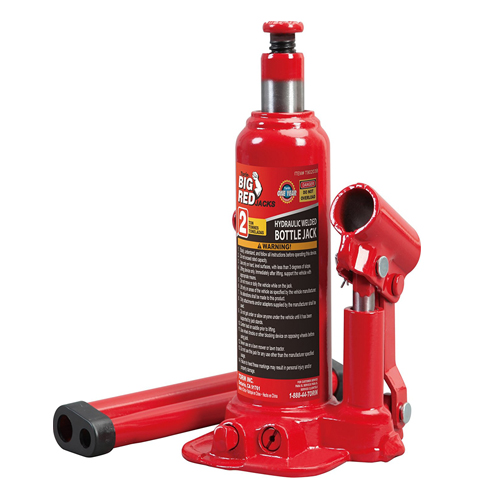 2. Torin Hydraulic Bottle Jack (2 Ton Capacity)