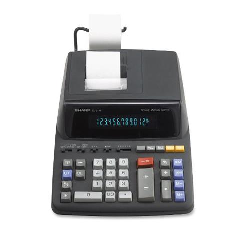 10. Sharp Desktop Calculator (EL-2196BL)
