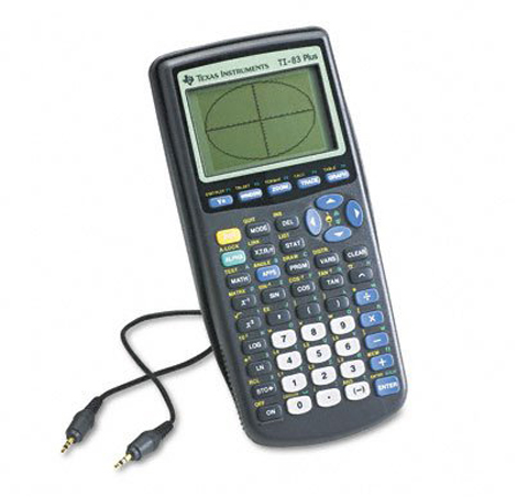 10. Texas Instruments TI-83 Plus Programmable Graphing Calculator