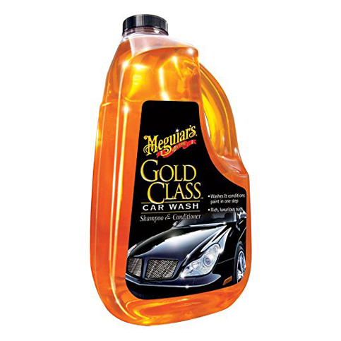 1. Meguiar'sG7164 Car Wash Shampoo and Conditioner