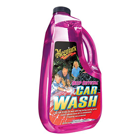6. Meguiar's G10464 Crystal Car Wash