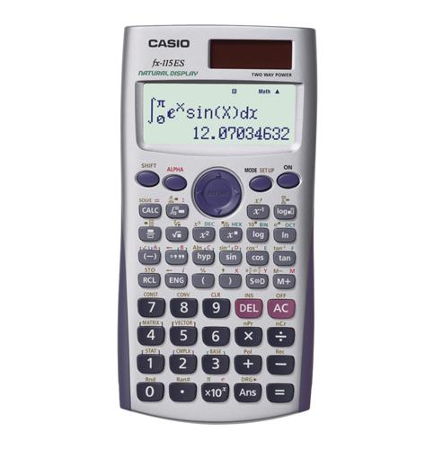 9. Casio Scientific Calculator (FX-115ES)