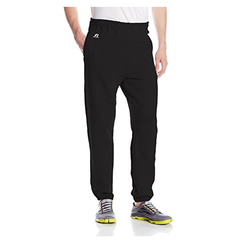3. Russell Athletic Men's Dri-Power Sweatpants (Closed-Bottom)