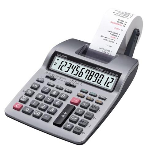 1. Casio Inc. mini desktop printing Calculator (HR-100TM)