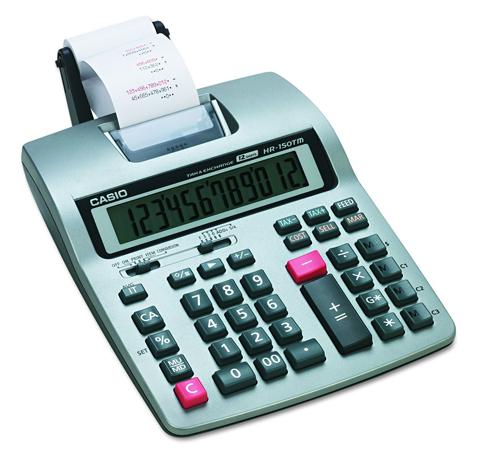 8. Casio Business Calculator (HR-150TM Plus)