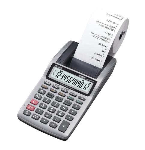 4. Casio Plus – Handheld Printing Calculator (HR-8TM)