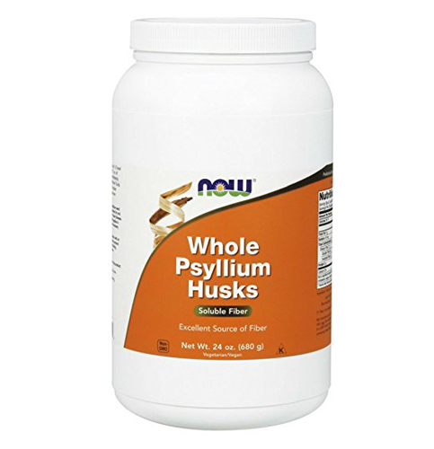 1. NOW Psyllium Husks Whole, 24-Ounce