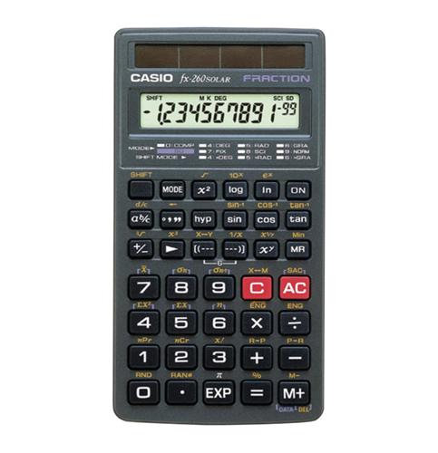 8. Casio fx-260 Scientific Calculator