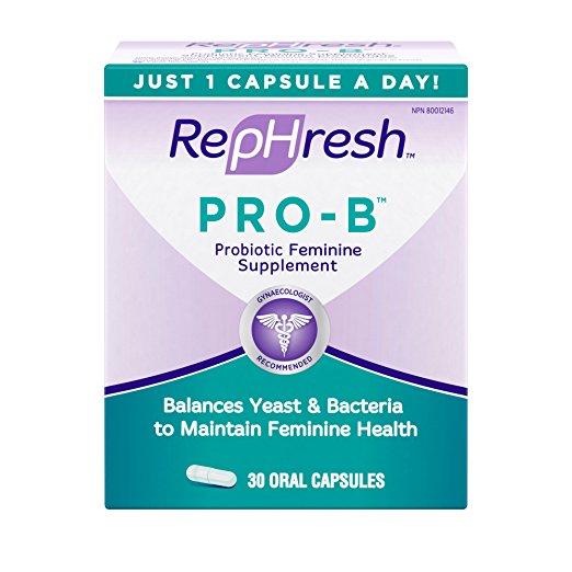 2. RepHresh Pro-B Feminine Probiotic