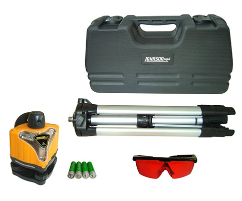 1. Johnson 40-0918 Rotary Laser Level Kit