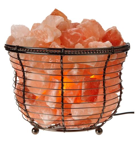 2. Himalayan Glow Natural salt lamp
