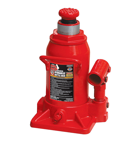 8. Torin Hydraulic Stubby Bottle Jack (12 Ton Capacity)