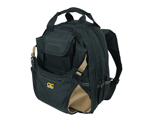 1. Custom Leathercraft CLC 1134 Tool Backpack