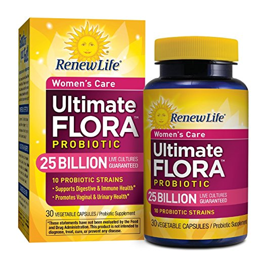 8. Renew Life 25 Billion Ultimate Flora Probiotic