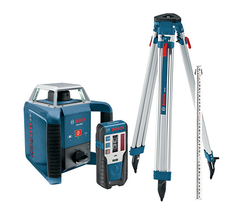 5. Bosch Exterior Self-Leveling Laser Level Kit