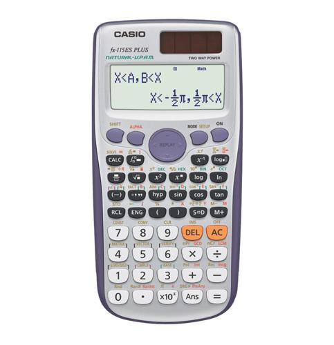 5. Casio fx-115ES Scientific Calculator