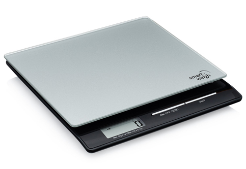 7. Smart Weigh Postal Scale with Tempered Glass Platform