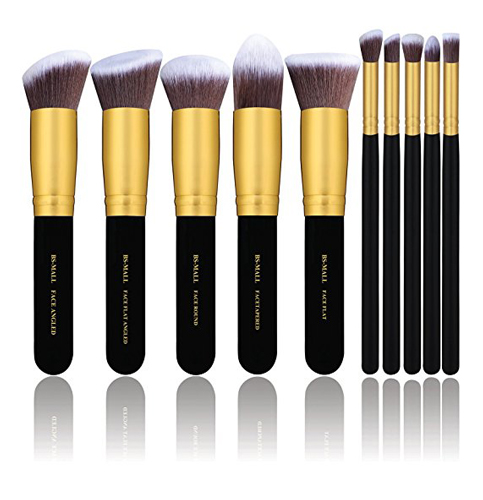 1. BS-MALL 10 Pieces Makeup Brush Set