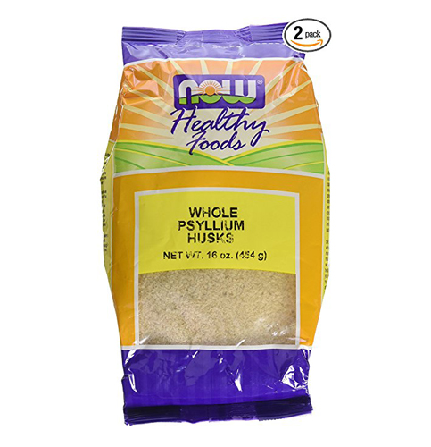 7. NOW Foods Psyllium Husks Whole, 16 Ounce