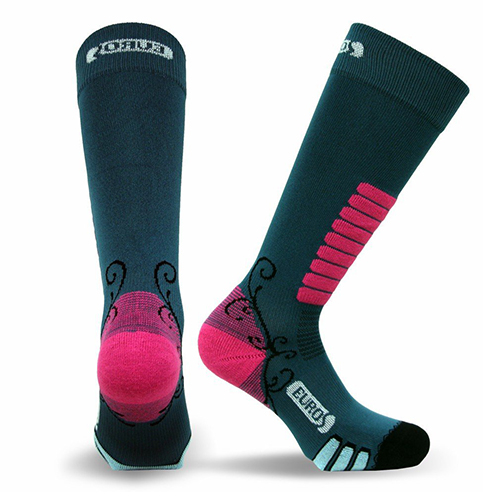 9. Eurosocks 8311W Snow Skiing Socks
