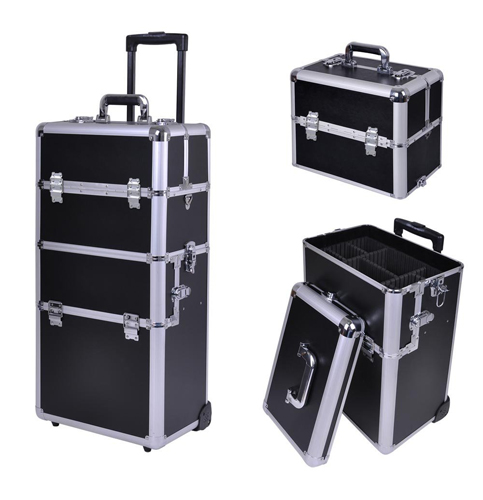 2. AW 2-IN-1Cosmetic Train Case