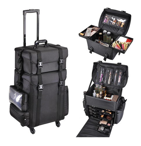 4. AW Soft-Sided Makeup Case