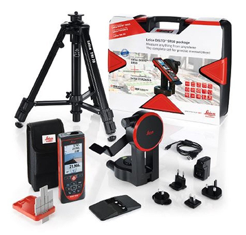 6. Leica Geosystems Disto S910 Range Laser Pro Kit