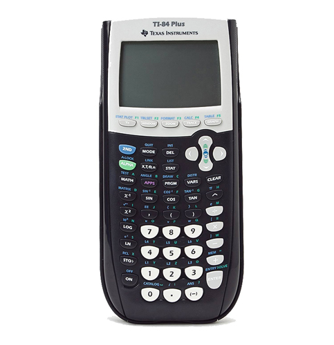 1. Texas Instruments Ti-84 plus Graphing calculator