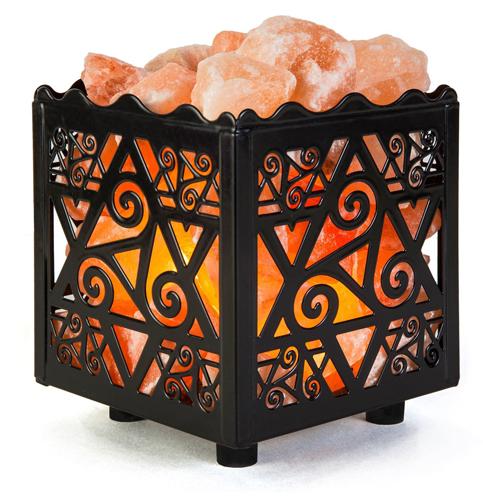 3. CRYSTAL DÉCOR Natural Himalayan Salt Lamp