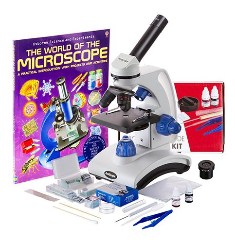 5. AmScope 2016 BEST STUDENT MICROSCOPE