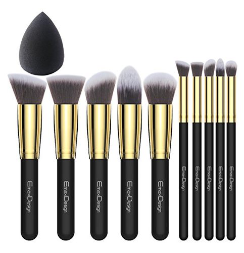 8. ExamDesign 10+1 Makeup Brush Set (MB118S)