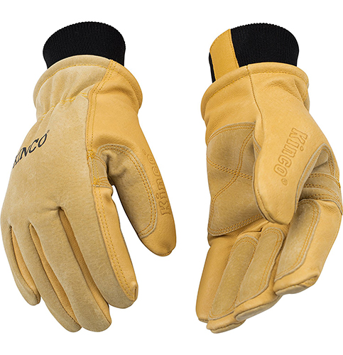 8. KINCO 901 Pigskin Leather Ski Glove