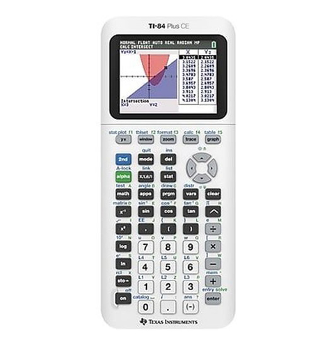4. Texas Instruments Plus CE Graphing Calculator (TI-84)