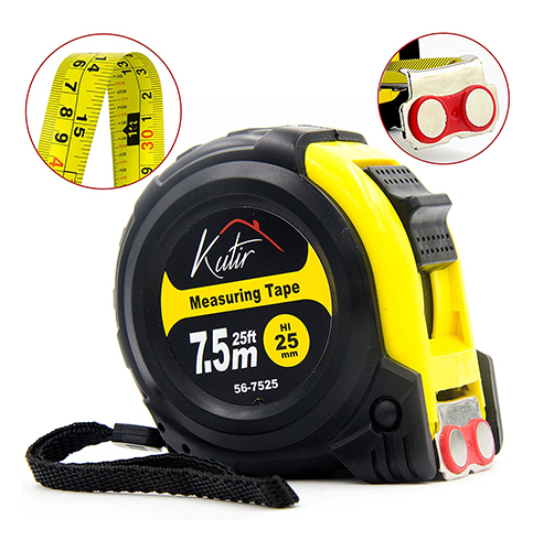 9. Measuring Tape Measure By Kutir - EASY TO READ 25 Foot
